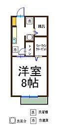 エミネンスI[2階]の間取り
