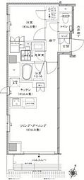Residence KANDA[301号室]の間取り