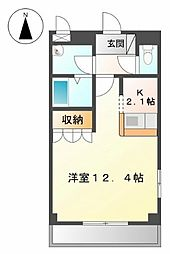 フィールド・ビレッジII[1階]の間取り