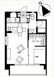 新高砂マンション[3階]の間取り