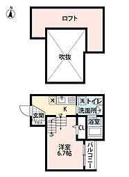 AVANTII〜アヴァンティ〜[1階]の間取り