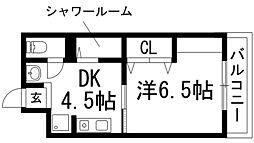 ネクスト八王寺[3階]の間取り