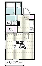 Relent House[1階]の間取り