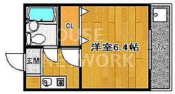森マンション6[405号室号室]の間取り