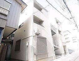 東京都足立区花畑5丁目の賃貸アパートの外観