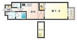 M'SFLATⅡ[5階]の間取り