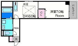 ACTY-I[9階]の間取り