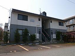新潟県新発田市新栄町2丁目の賃貸アパートの外観