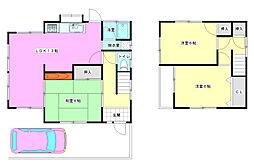 [一戸建] 広島県広島市西区己斐上3丁目 の賃貸【広島県 / 広島市西区】の間取り
