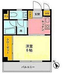 北村ビル[2階]の間取り