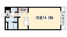 RIMP竹ノ山[306号室]の間取り