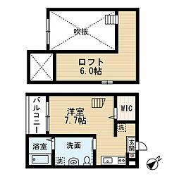 リーフアベニュー[2階]の間取り
