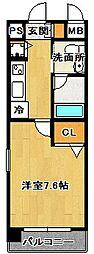 シャトレ・マラン[1階]の間取り