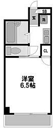 大阪府大阪市淀川区西中島4丁目の賃貸マンションの間取り