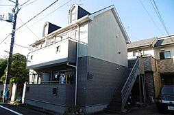 東京都江戸川区北小岩6の賃貸アパートの外観