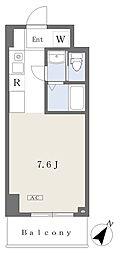 NK103 7階ワンルームの間取り
