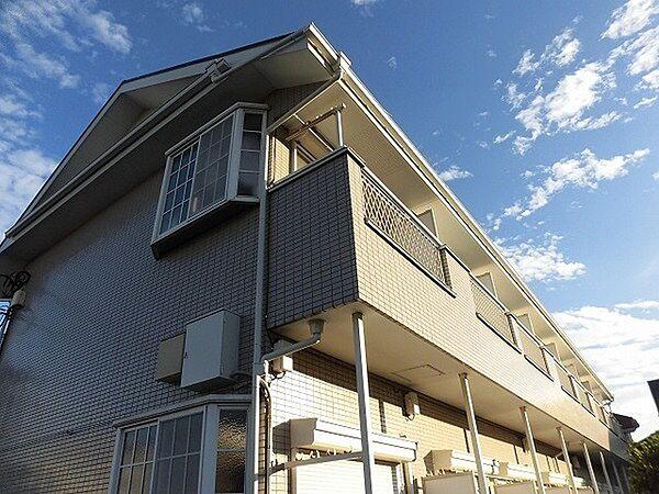 東京都日野市神明2丁目の賃貸アパート