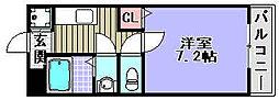 ペアーコート泉佐野A棟[2階]の間取り