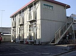 シティハイムシエスタB棟[203号室]の外観