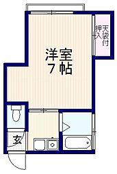 金城ビル[3階]の間取り