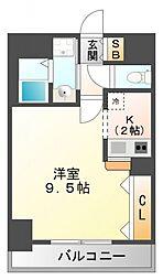 ディアコート小曽根[3階]の間取り