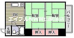 富田町共同ビル[3階]の間取り
