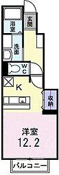 サニースクエアI[1階]の間取り