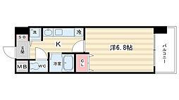 サムティ祇園河原町[302号室]の間取り