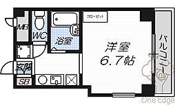 サンガ梅田[4階]の間取り