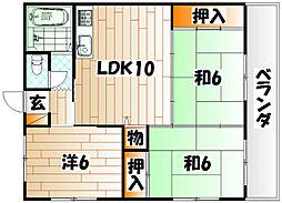 南国産業ビル[5階]の間取り