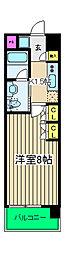 イーリス浅間町[7階]の間取り