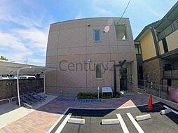 兵庫県川西市小花1丁目の賃貸アパートの外観
