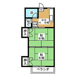 すみれ荘[1階]の間取り