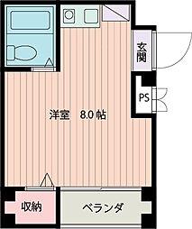 ジュネス関目II[4階]の間取り