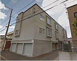 北海道札幌市豊平区月寒東二条16丁目の賃貸アパートの外観