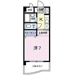 A・LA・MODO[3階]の間取り