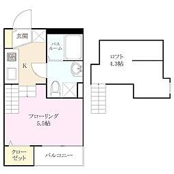 スペランザ・ピーノ吉塚[1階]の間取り