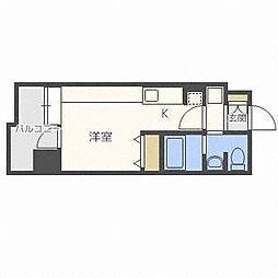 ラヴィータ410[10階]の間取り