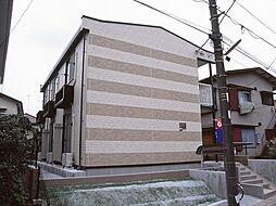 神奈川県川崎市多摩区南生田5の賃貸アパートの外観