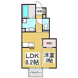 (仮)D-room上新田新築[1階]の間取り