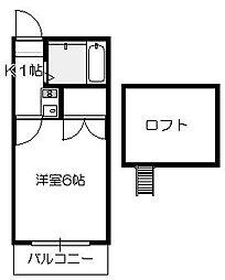 MIYATO[101号室]の間取り