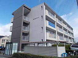 滋賀県栗東市手原5丁目の賃貸マンションの外観