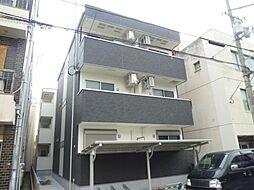 大阪府大阪市住吉区長居1丁目の賃貸アパートの外観