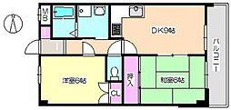 グレートフューチャーパートIII 502[5階]の間取り
