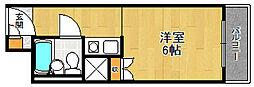 セレーノ立花[502号室]の間取り