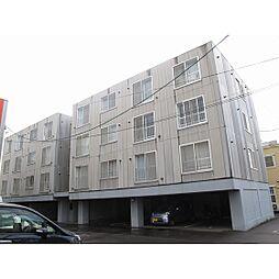北海道函館市湯浜町の賃貸マンションの外観