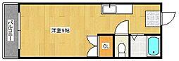 オアシスビル[201号室号室]の間取り