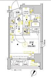 セジョリ横浜ウエスト[10階]の間取り