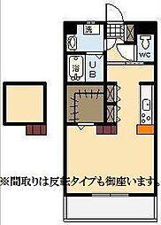 (新築)下北方町常盤元マンション[702号室]の間取り