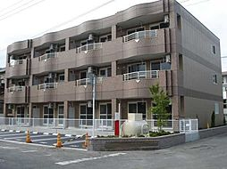 静岡県沼津市北今沢の賃貸マンションの外観